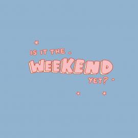 On se souhaite un bon week-end à tous ceux qui ne sont pas en vacances 🤍